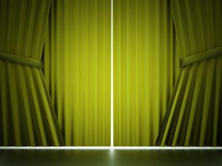 Green curtain concept