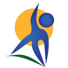 Logo sport fitness
