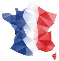 Carte France polygones-1