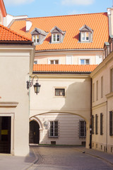 street in old town, Warsaw