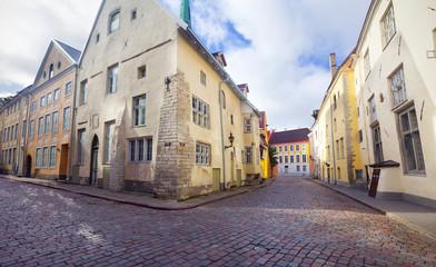 View of beautiful old town Tallinn. Estonia