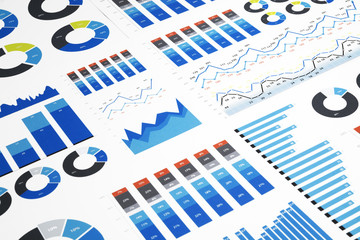Colorful Business Charts
