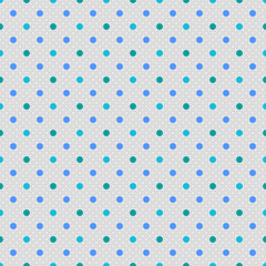 Vector Background # Polka Dot Pattern, Bluegray