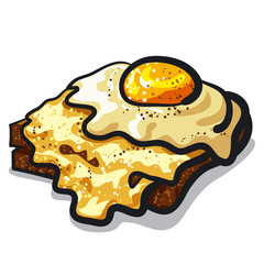 toast with egg and cheese