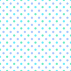 Vector Background # Polka Dot Pattern, Waterclor blue