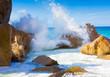Beach Foam Rocks