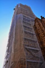 Puertollano, iglesia de la Asunción, obras de restauración
