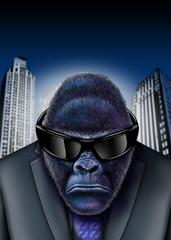 Gorilla-business-Sonnenbrille
