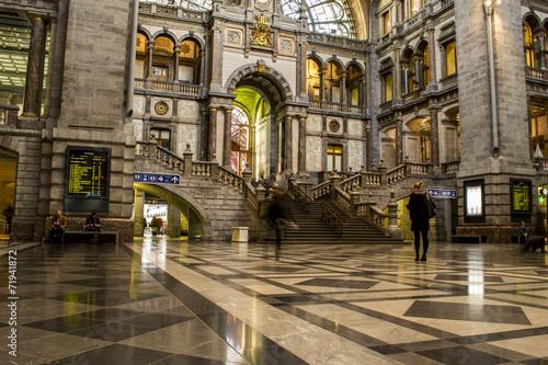 Fotobehang Treinstation Antwerp Central Station