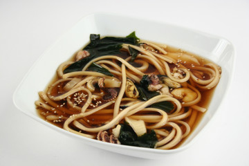 Seafoods japanese soup