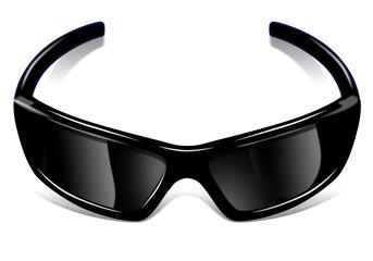 Sonnenbrille-schwarz
