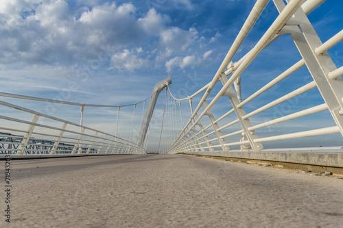 Papiers peints Pont Passerelle de Décines