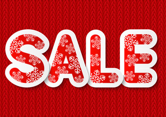 Christmas sale concept for Your design