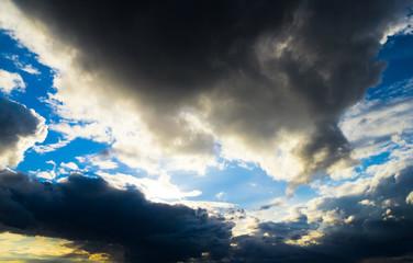 Stormy Skies Light and Dark