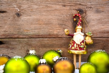 Weihnachtskarte - Santa Claus