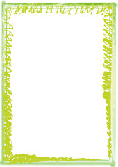 Rahmen grün