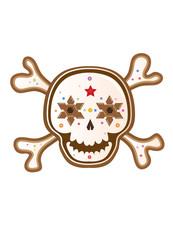 Sugar Skull Lebkuchen