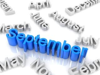 text September