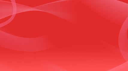 Red curves abstraction. Loop able. 3D rendered.