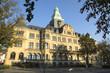 Leinwanddruck Bild - Rathaus der Stadt Recklinghausen, NRW, Deutschland
