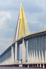 The Manaus Iranduba Bridge,bridge over the Rio Negro,Brazil