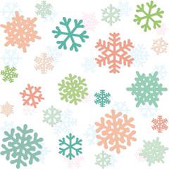 雪の結晶 パターン