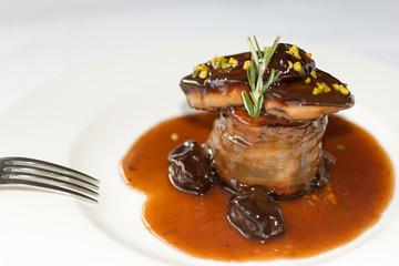 foie round steak