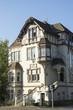Leinwanddruck Bild - Stadtvilla in Recklinghausen, NRW, Deutschland