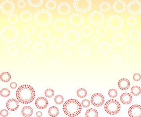 colorful dot circle background