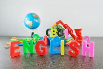 Study English conceptual image