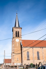 Kirche St.Pierre in Alsting