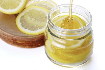 蜂蜜レモン作り