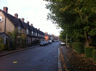 a typical Sussex road