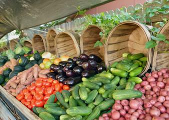 Farmer's Market Vegetable Stand