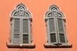 canvas print picture - Venezianische Fenster