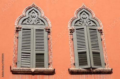 canvas print picture Venezianische Fenster
