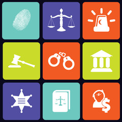 Justice icons square
