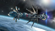 Spaceship with Warp Drive in the initiating state - 71951600