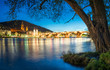 canvas print picture - Heidelberg im Winter