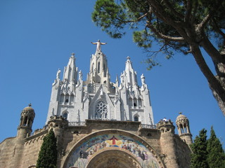 Tibidabo Mountain - Barcelona, Spain