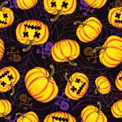 Halloween background. vector illustration. Template for design.