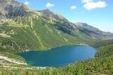Górskie jezioro (Morskie Oko, Tatry)