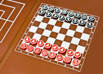 small magnetic pocket chess board game