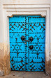 Traditional entrance door of a house in Gafsa,Tunisia