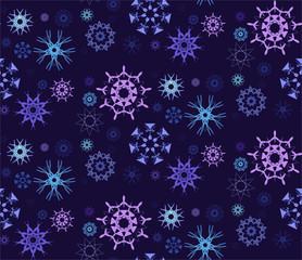 Figured Snowflakes Pattern