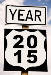 2015 on american road signs