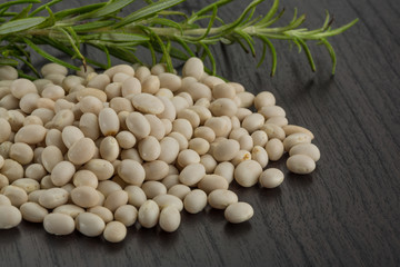 Raw  soya beans