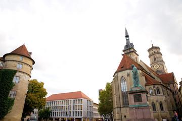 Altes Schloss und Stiftskirche - Stuttgart