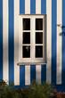 canvas print picture - Fassade mit Fenster