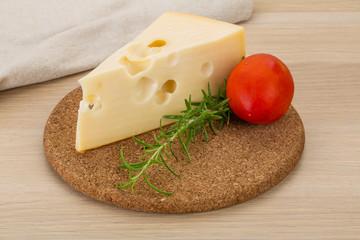 Cheese maasdam